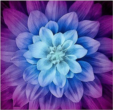 Dream Big~ Neon~ Digital Floral Panel 43x 43 Hoffman Cotton Fabric