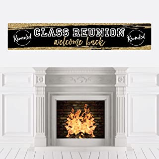Reunited - School Class Reunion Party Decorations Party Banner