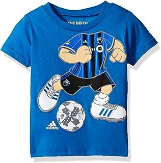 "MLS Toddler Boys""Dream Job"" Short Sleeve Tee, Toddler, Dream Job Soccer Player Short Sleeve Tee, R 4PADXP, Strong Blue, 4T"