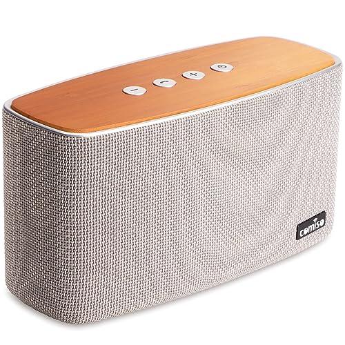 Enceinte Bluetooth Speaker Portable 30W, COMISO Haut-Parleur Bluetooth sans Fil 3D Digital Sound 20 Heures d'autonomie en Lecture, Compatibilité iphone, Android, Smartphone (Gris)