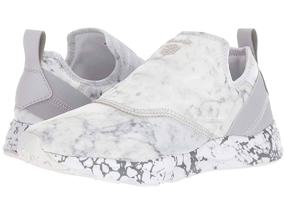 Reebok Furylite Slip-On Stone (White/Snowy Grey) Women