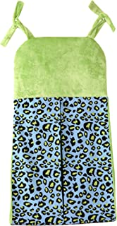 One Grace Place 10-14b031 Jazzie Jungle Boy - Diaper Stacker, Negro