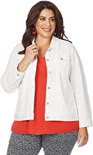 Beme Embroidery Anglaise Jacket - Womens Plus Size Curvy