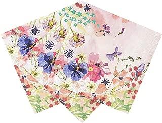 Talking Tables BG-CNAPKIN Blossom Tea Party Floral Napkins, Pack of 20, 25 x 25cm, 10