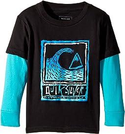 Quiksilver Kids - Peaks Long Sleeve Shirt (Toddler/Little Kids)