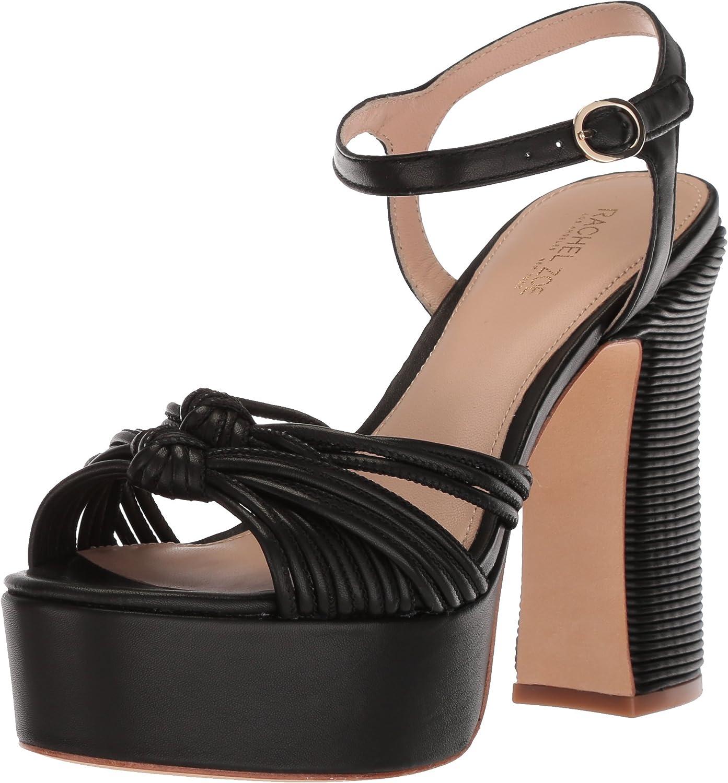 Rachel Zoe Women's Brand Cheap Sale Venue Avery Heeled Sandal Nippon regular agency Platform