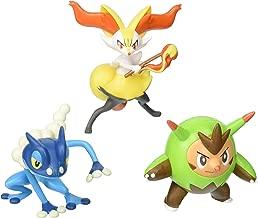 Pokemon Action Pose Quilladin, Braixen & Frogadier 3