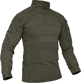 TACVASEN Men's Tactical Shirt 1/4 Zip Assault Military...