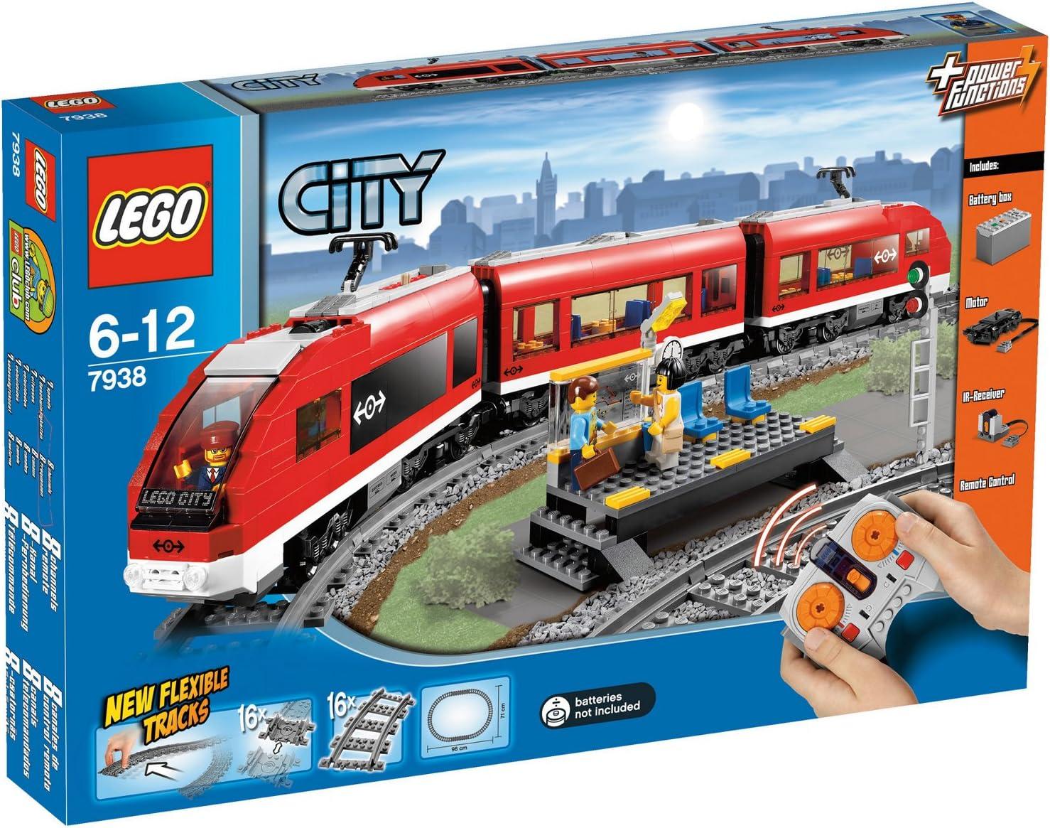 Lego Train City 8 RC Curved Tracks Mint 3677//7939//60052//60051//7895