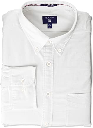3aae635a GANT Men's The Fitted Oxford Shirt