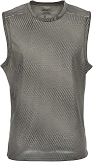 ASICS Fashion Sleeveless Top (Men's) Olive Green,Small