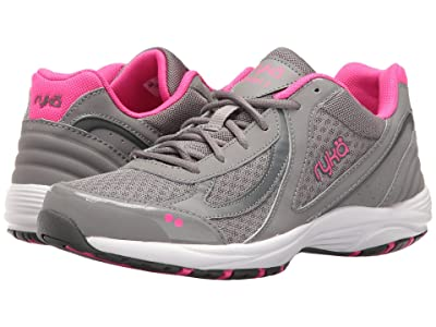 Ryka Dash 3 (Frost Grey/Steel Grey/Athena Pink/Cool Mist Grey) Women