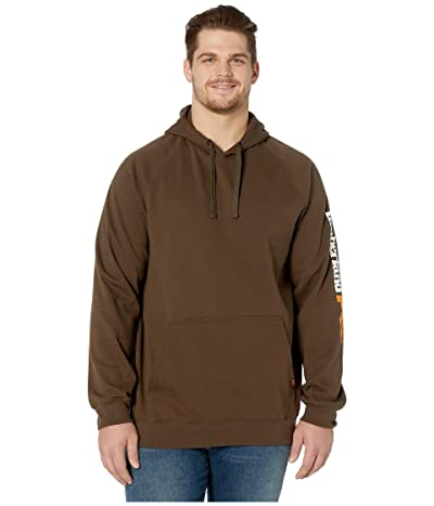 Timberland PRO Hood Honcho Sport Pullover Tall (Dark Brown) Men