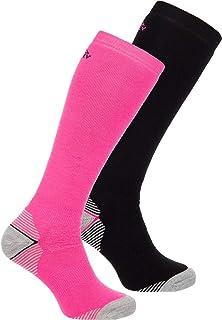 McKINLEY, Rob - Calcetines para Hombre (2 Unidades), Unzutreffend, Hombre, Color Pink/Black Night, tamaño 39-41