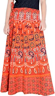 Rajvila Rajasthani Jaipuri Print Skirt for Women Comfortable Skirt for Women (F_W40NT_0005)