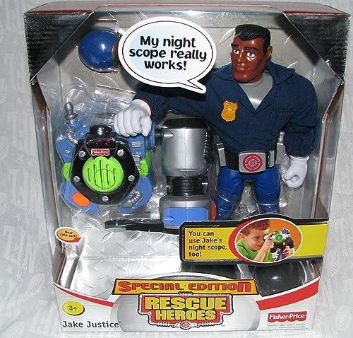 comprar mejor Fisher Price Special Edition Rescue Heroes Heroes Heroes Jake Justice  artículos de promoción