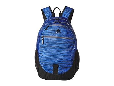 adidas Foundation V Backpack (Real Blue Looper/Grey) Backpack Bags