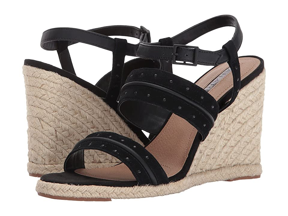 Tahari Wyatt (Black Suede) Women