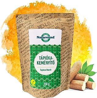 Naturmind Tapiokastärke 250g | Glutenfrei stärke | Vegan | Paleo | Gluten Free Tapioca Starch | 100% Rohkostqualität | Fein gemahlen und Geschmacksneutral | Ideal Backen Kochen | Abbinden Pudding
