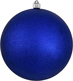 Christmas by Krebs KBX40505 Patriotic Decoration-Commercial grade, Water-Resistant 4th of July/Memorial Day/Military Celebration, 10-Inch, Dark Blue Glitter