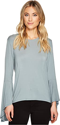 Bell Sleeve High-Low