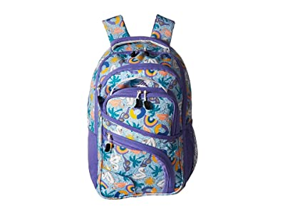 High Sierra Wiggie Lunch Kit Backpack (Pool Party/Lavender/White) Backpack Bags