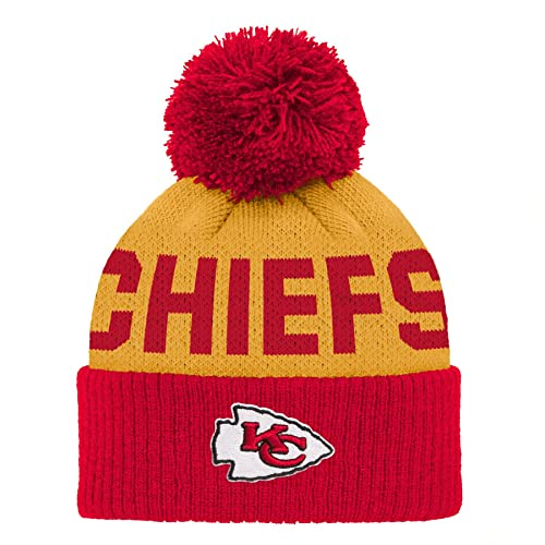 d1d2c61cc Kansas City Chiefs Pom Knit Hat: Amazon.com