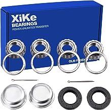 XiKe 2 Set Fits for 25mm Axles Trailer Wheel Hub Bearings Kit, 30205 Bearings and Seal TC..