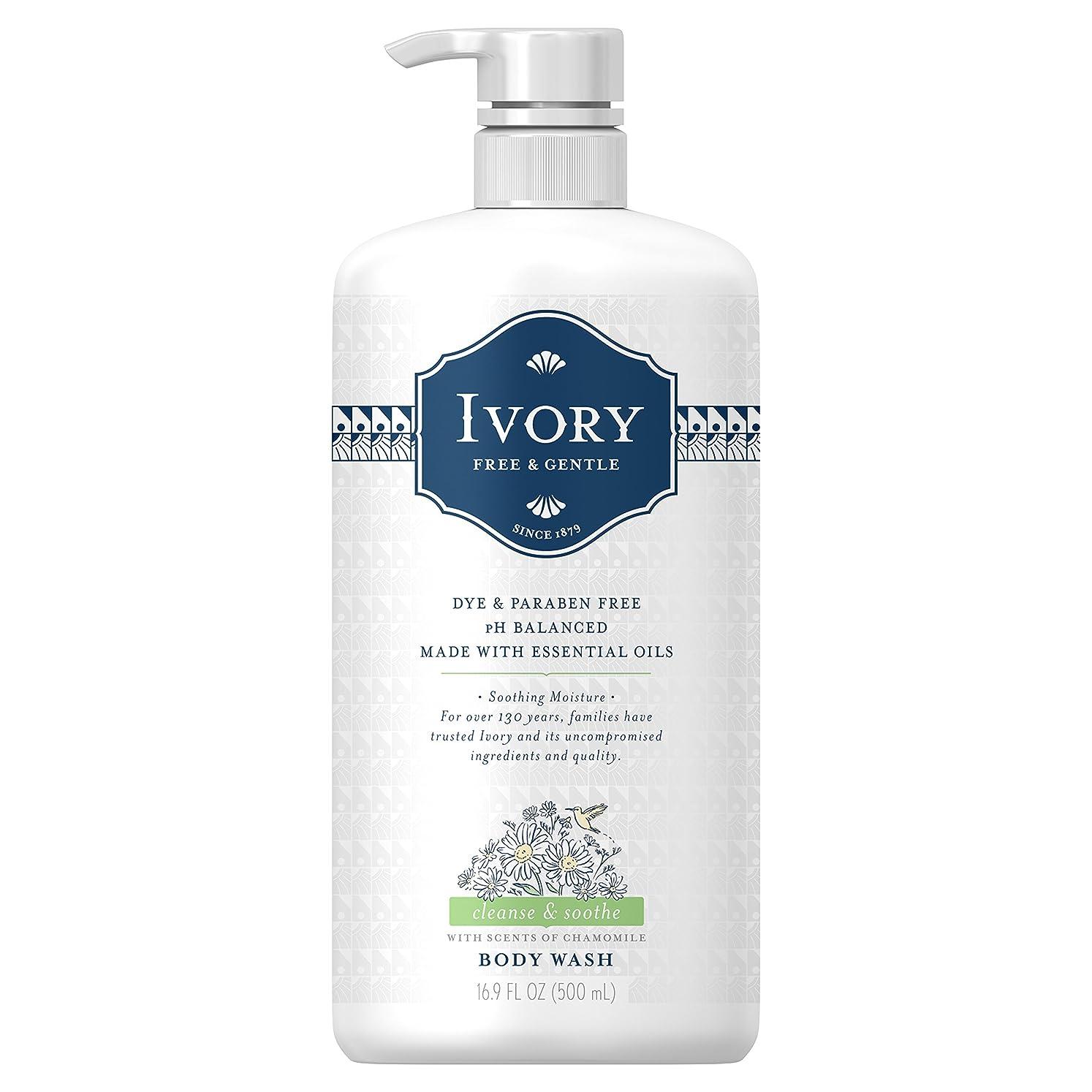 年次天皇試してみるIvory free&gentle body wash pear&sandalwood (chamomile)