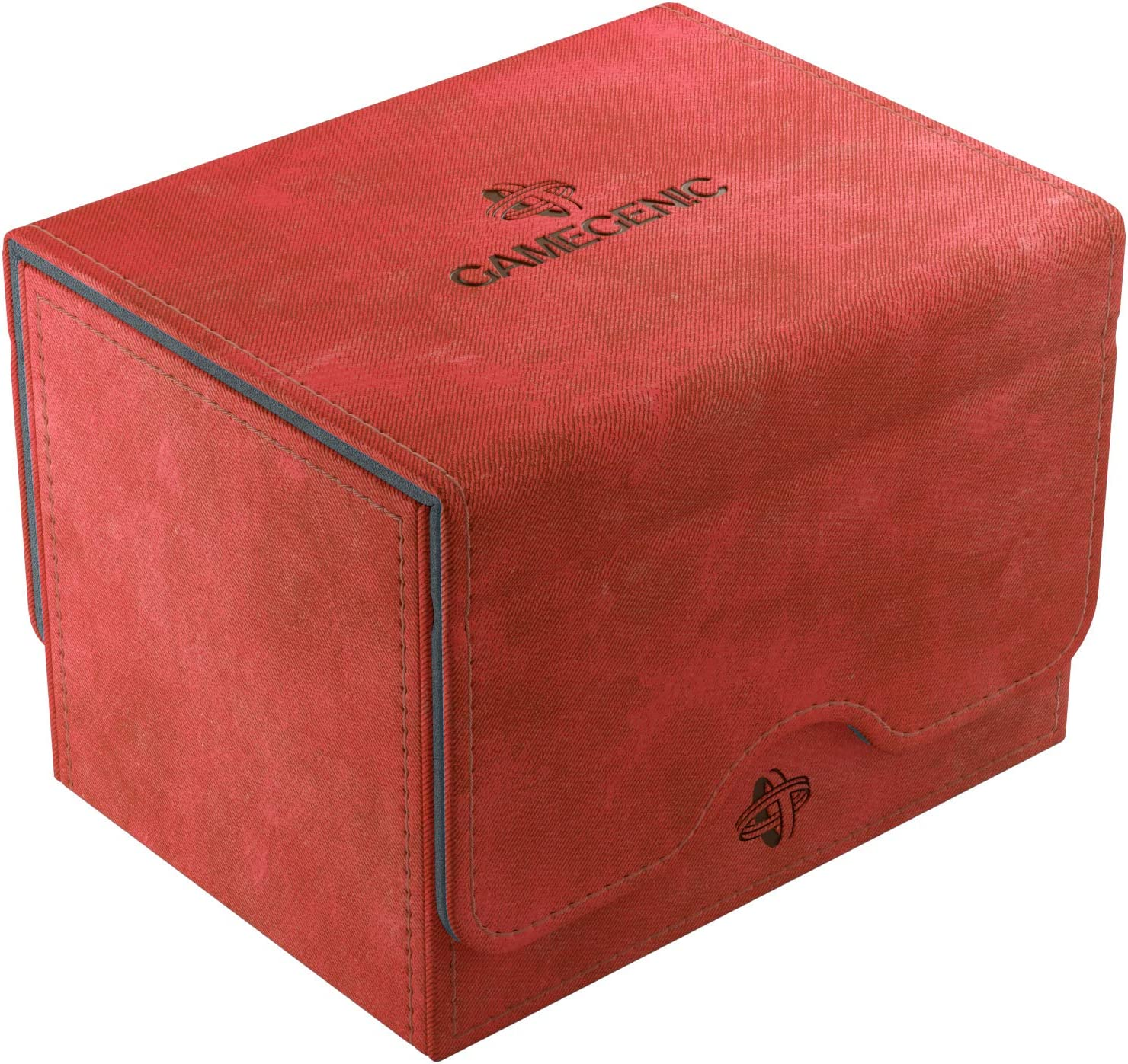 Chicago Mall Gamegenic Deck Box: Sidekick Red 100ct Free shipping Convertible