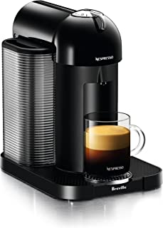 Breville-Nespresso USA BNV220BLK1BUC1 Vertuo Coffee and Espresso Machine, Black