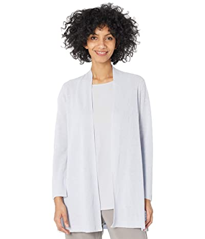 Eileen Fisher Organic Linen Cotton Long Cardi (India Sky) Women