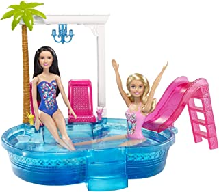 Barbie Muñeca Piscina Glam
