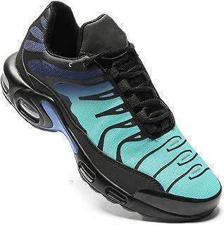 KEEZMZ Herren Schuhe Laufschuhe Turnschuhe mit Luftpolster Atmungsaktiv rutschfeste Walkingschuhe Tennisschuhe Sneaker Spo...