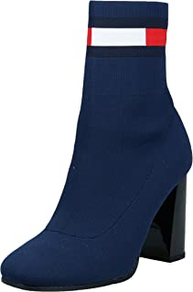 Tommy Hilfiger Sock Heeled, Women Boots