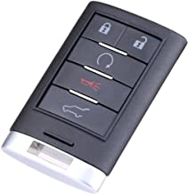 $35 » ECCPP Replacement fit for Uncut Keyless Entry Remote Control Car Key Fob Cadillac SRX/ATS/ELR/XTS NBG009768T 315MHz (Pack ...