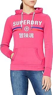 Superdry Vintage Sport Hood Sudadera con Capucha para Mujer