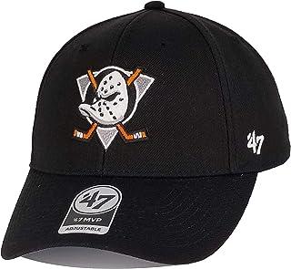 77e09913bdcd8  47 Brand- Exclusive – NHL Anaheim Mighty Ducks Throwback MVP Strapback  Black Size