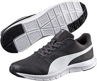 PUMA Men's Flexracer, Asphalt-White, Running Shoes
