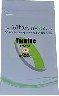 Taurine [1000mg] - 60 Compresse | Sport Supplemento [Taurina]