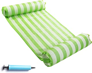 FindUWill Hammock Float Portable Swimming Pool Lounge Inflatable Water Pillow