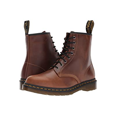 Dr. Martens 1460 8-Eye Boot (Butterscotch Orleans/Black Pu) Men