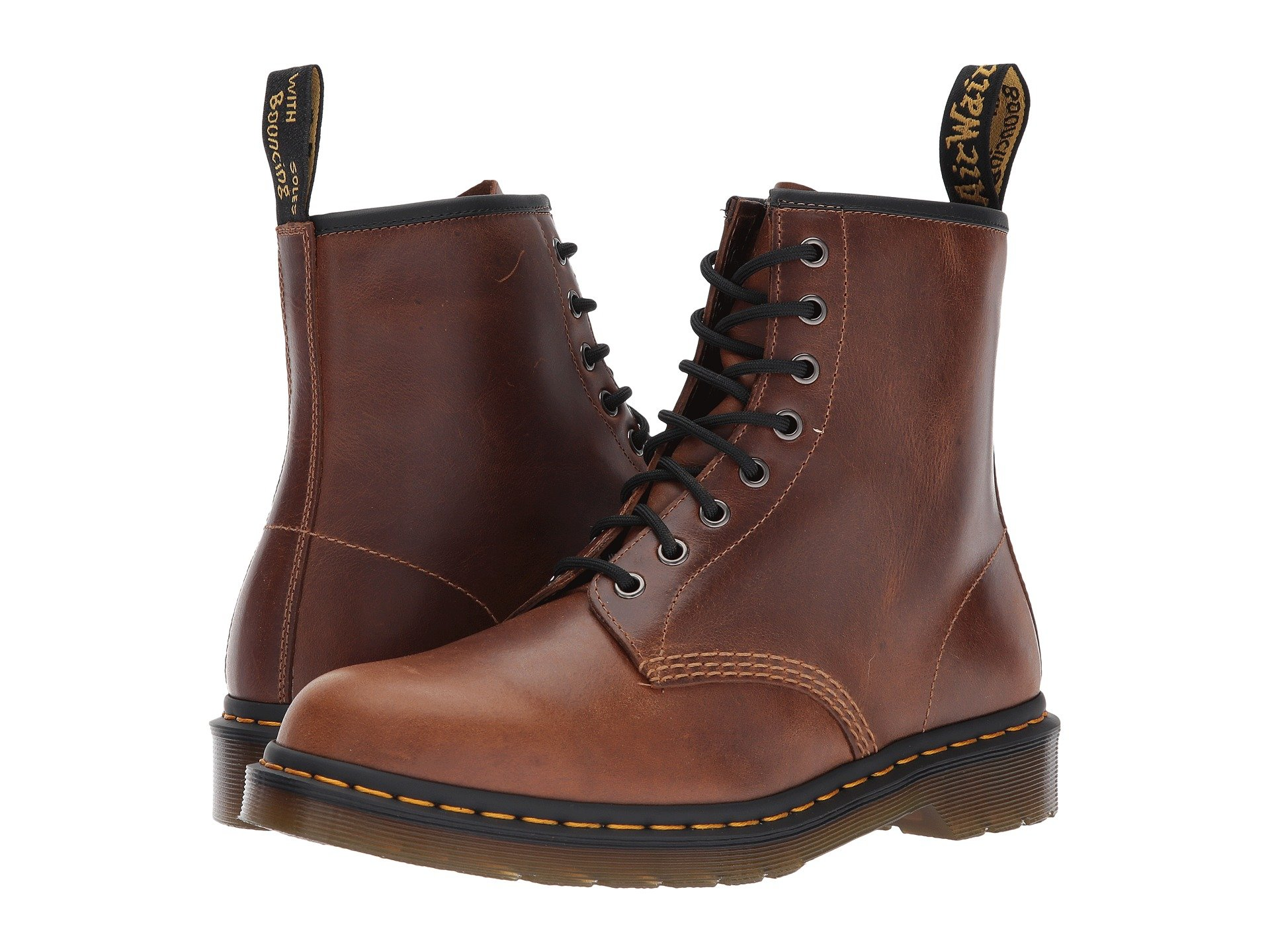 1460 Boot 8 Dr eye Pu black Orleans Martens Butterscotch xOgxw5Zq