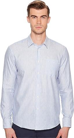 Vilebrequin - Linen One-Pocket Stripe Shirt