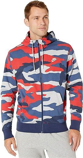 Nike Club Fleece Full Zip Hoodie |