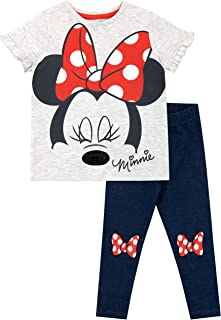 Girls' Minnie Mouse Top & Leggings Set