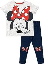 Disney Girls' Minnie Mouse Top & Leggings Set