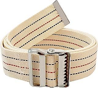 LiftAid Transfer & Walking Gait Belt w/Metal Buckle & Belt Loop Holder for Therapist, Nurse, Home Care - 60