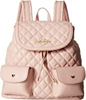 LOVE Moschino - Quilted Backpack