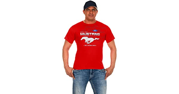 JH Design Mens Ford Mustang T-Shirts in 8 Great Styles a Short Sleeve Crew Neck Shirt MUS8035002